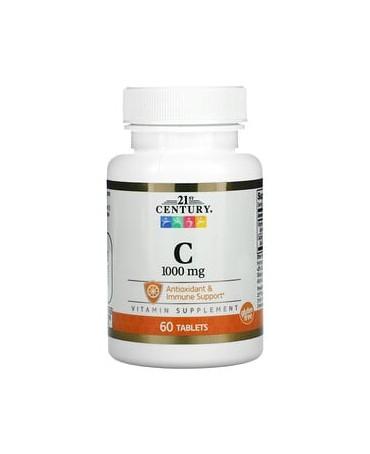 Vitaminas C, 1000 mg, 60...